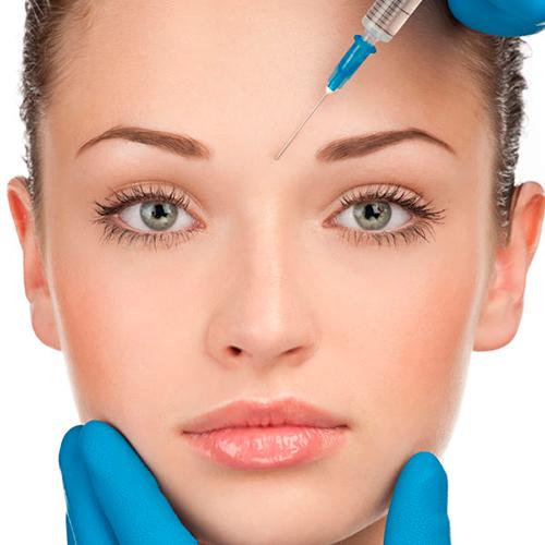 tratamiento estético facial botox